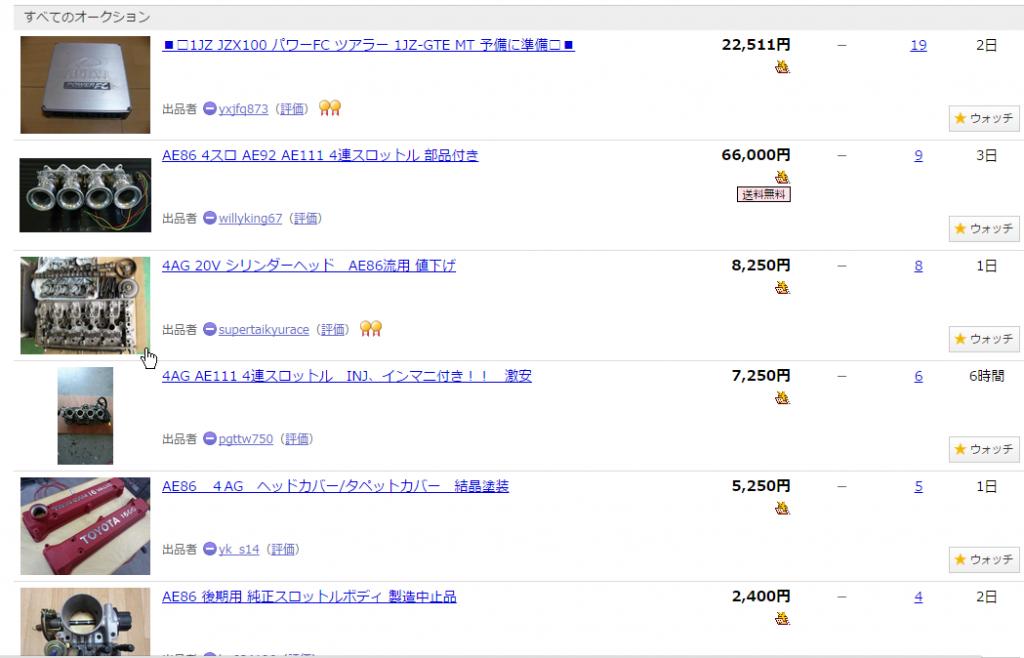 Buying Car Parts From Yahoo Japan
